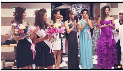 "video finale 2014 ""Modella per una Sera"""