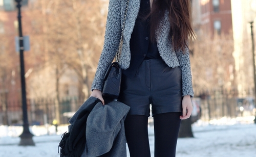 FASHION WEEKLY LOOK#2: shorts in inverno? No problem!