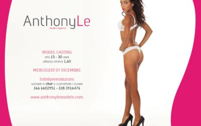 Model casting 7 Dicembre 2016